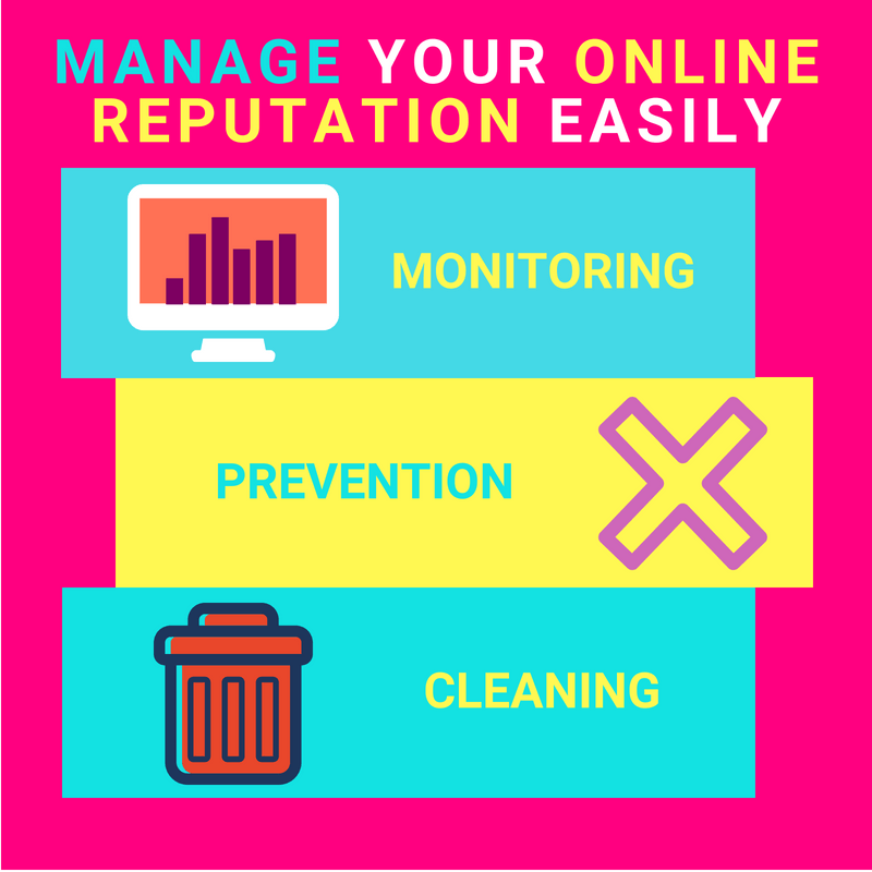Online Reputation Management Tips For Starters Infographic
