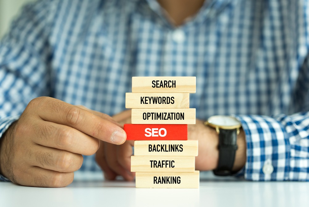 search engine optimization tips jenga blocks
