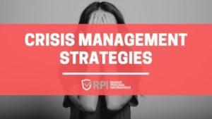 Crisis Management Strategies