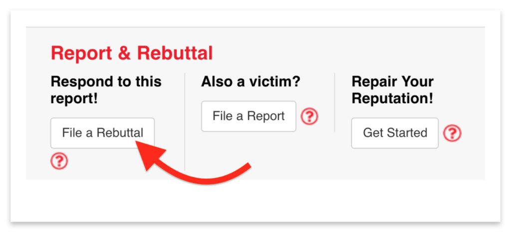 ripoff report rebuttal